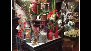 видео Оформление цветочного магазина. Оформление цветочных витрин