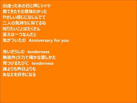 「Shirt Ni Kakushita Tenderness」歌詞付き 歌:黒沢律子