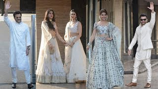 Bollywood Celebs ARRIVE At Sonam Kapoor's Mehndi Sangeet Ceremony