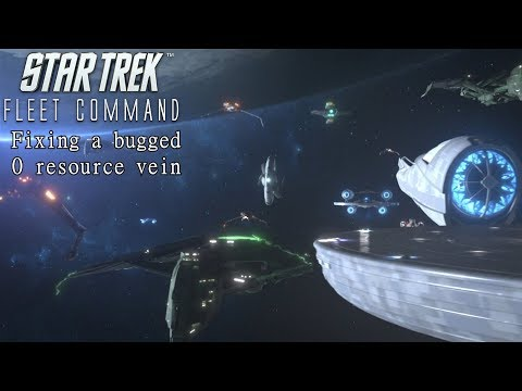 Star Trek Fleet Command | How To Fix A Bugged 0 Resources Mine