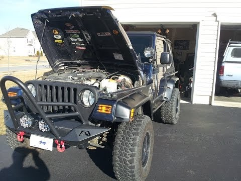 Jeep Wrangler TJ - EVAC repair - Trouble codes P0455, P0456, P0457