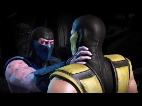 Mortal Kombat X: Sub-Zero vs. Scorpion with a Classic Fatality
