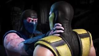 Mortal Kombat X: Sub-Zero vs. Scorpion with a Classic Fatality