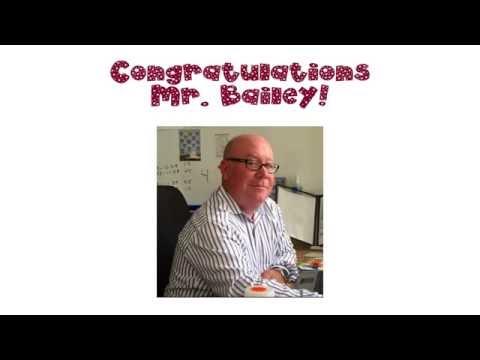 Mr. Bailey, Principal Broadway Academy Tribute
