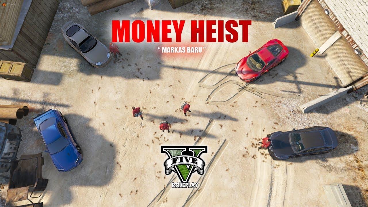 "MONEY HEIST EP7 "" MARKAS BARU "" || GTA V ROLEPLAY"