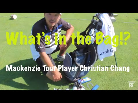 What's In the Bag!? w Mackenzie Tour Player Christian Chang