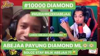 LAWAK !! ABEJAA PEKENA PENANG MARI 😅? PAYUNG DIAMOND MOBILE LEGEND 10000 ?😲