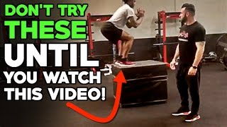 5 Vertical Jump Exercises To Do At Home | Vertical Jump Training