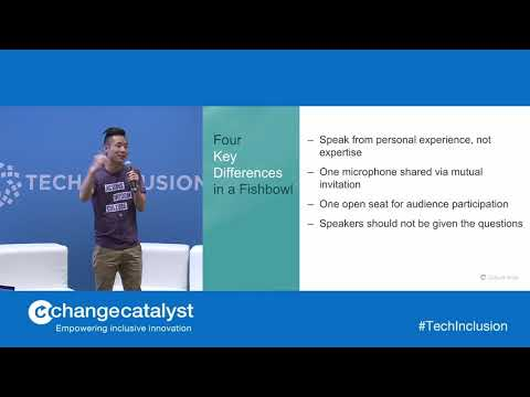 Steven Huang | The Fishbowl | Tech Inclusion SF 2018