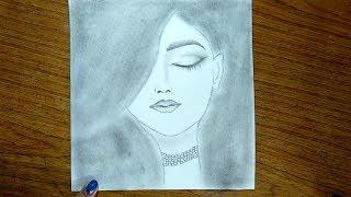pencil simple drawing drawings easy paintingvalley