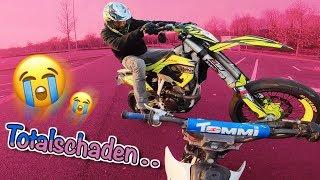 Ich habe mein 1. Motorrad zerstört.. 😭