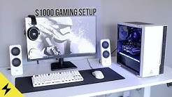 Your next $1000 PC Gaming/Streaming/VR Setup for 2020!