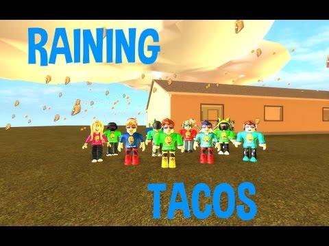 Its Raining Tacos Roblox Music Video Youtube