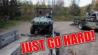 Picking up an Off Road Vehicle