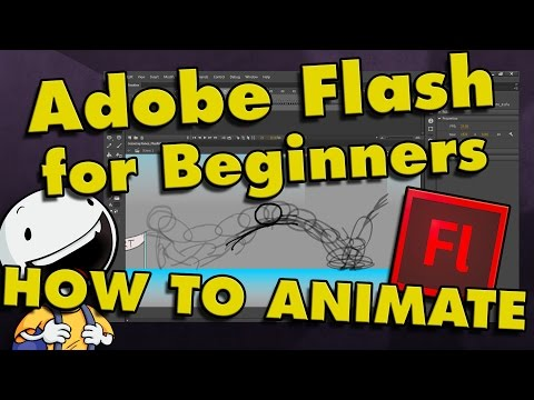 How To Animate in Flash CS6 & CC   Tutorial for Beginners