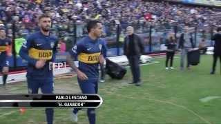 La vuelta de Tevez a Boca con Pablo Lescano y Las Boquitas