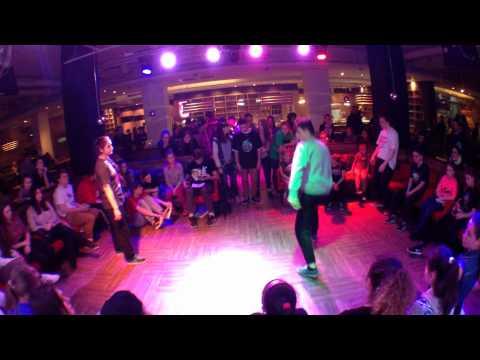 "V.M. vs Milana hip hop 1\16 ""One va One Battle"""