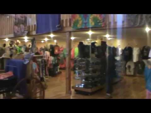 Bear Country USA gift shop - YouTube