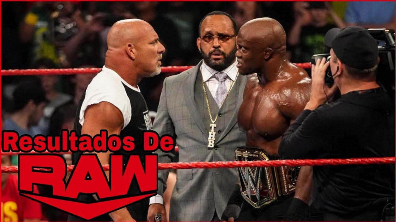 Goldberg REGRESA y RETA a Bobby Lashley Para WWE SummerSlam: RESULTADOS De RAW 19 De Julio De 2021
