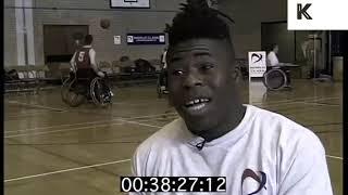 Ade Adepitan Wheelchair Basketball, 1998 Local News Report