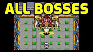 Bomberman '94 (PC-E) - All Bosses