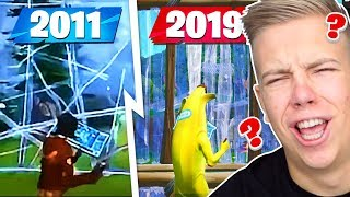 DIE EVOLUTION VON FORTNITE! 2011 - 2019