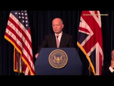 Major Speech on International Foreign Policy by Foreign Secretary William Hague June 25 2013