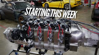 The 4 Rotor STARTS this Week! Ignition system finished!