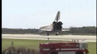 Shuttle Discovery Makes final landing