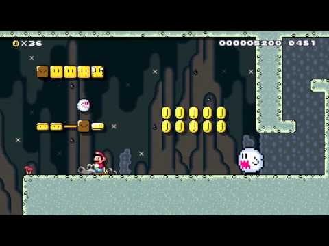 Cave of the Undead by Frank - Super Mario Maker - No Commentary