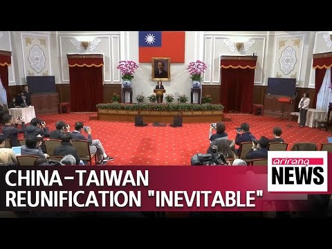 China's Xi says Taiwan's reunification with China is 'inevitable'