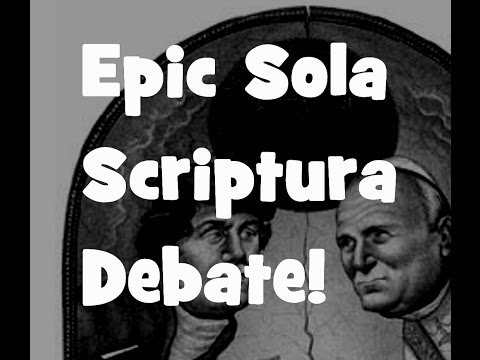 Epic Catholic vs Protestant- Sola Scriptura
