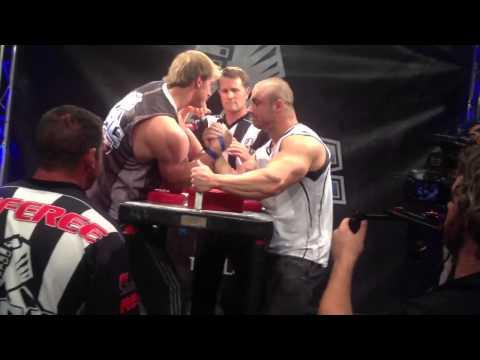 Chris Chandler vs Matt Mask Arm Wrestling