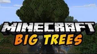 MINECRAFT MOD-BigTrees Mod 1.7.4/1.6.4-Wielkie drzewa!- prezentacja modyfikacji 1.7.4/1.6.4
