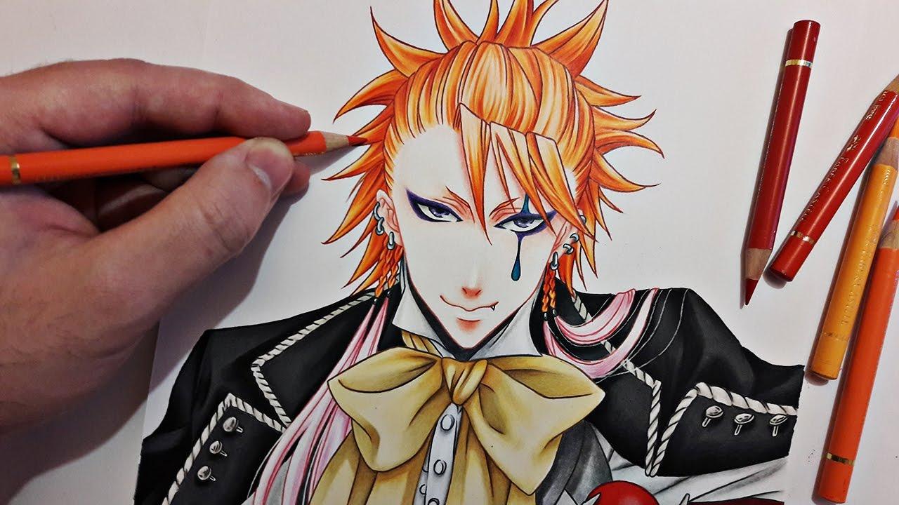 Speed Drawing Joker Black Butler Kuroshitsuji