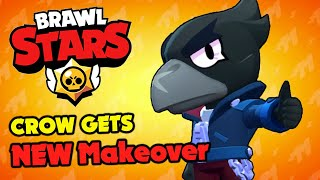 Brawl Stars - CROW MAKEOVER & NEW MAPS SUMMER OF MONSTERS!!