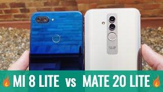 Comparativa Huawei Mate 20 LITE vs Xiaomi Mi 8 Lite ¿Cuál es Mejor?