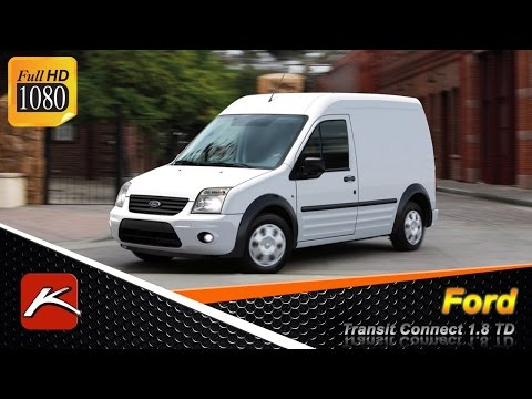 Ford Transit Connect тест драйв