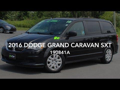 2016 DODGE GRAND CARAVAN SXT - 190841A