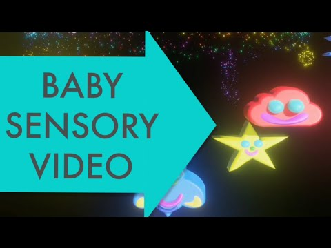 Baby sensory stimulation-Infant visual stimulation-Baby video with music