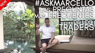 ¿Precio del curso, cómo se fondean los traders, brokers, qué estudiar para trading? #askmarcello