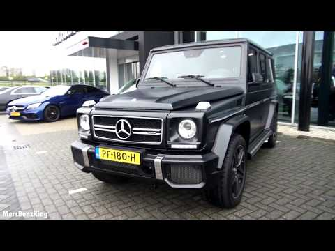 2017 Mercedes AMG G63 - Full Review G Class Wagon Drive Interior Exterior Exhaust