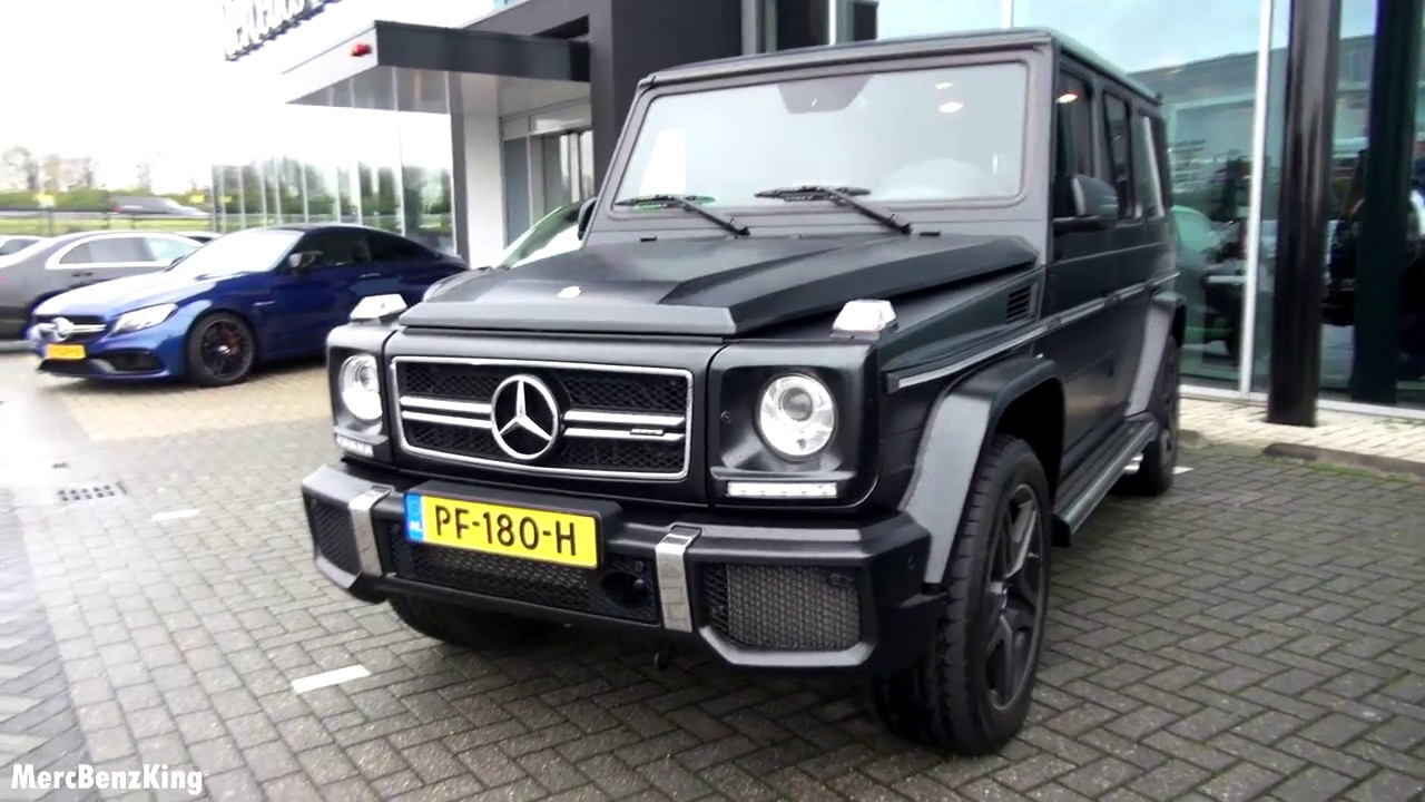 2017 mercedes amg g63 full review g class wagon drive interior exterior exhaust youtube. Black Bedroom Furniture Sets. Home Design Ideas