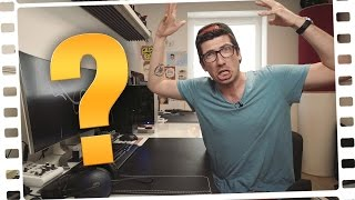 What's on my desk?  | ZOCKEN & SCHNEIDEN!