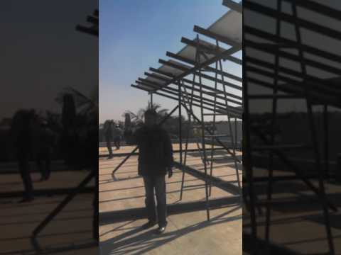 Solar Power System Installation By Shams Energy