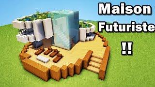 Comment faire une maison futuriste dans minecraft ?!! tutoriel :)