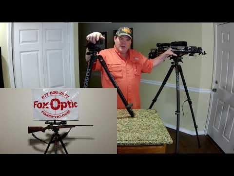 BOG Deathgrip Tripod Fox Optic Review