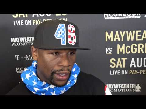 floyd mayweather what he thinks of conor mcgregor keeps it 1000 EsNews Boxing