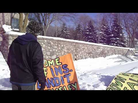 Stephen Hemsley - Protest on Ice 2