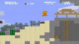Super Mario Bros Fusion - 0.9.9D - Minecraft Preview